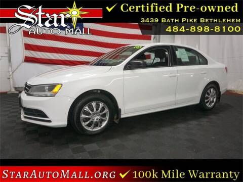 2015 Volkswagen Jetta for sale at STAR AUTO MALL 512 in Bethlehem PA