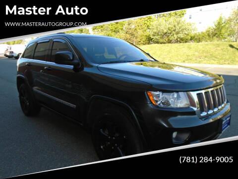 2013 Jeep Grand Cherokee for sale at Master Auto in Revere MA