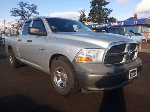 2009 Dodge Ram Pickup 1500 for sale at All American Motors in Tacoma WA