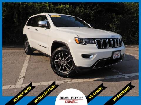 2019 Jeep Grand Cherokee for sale at Rockville Centre GMC in Rockville Centre NY