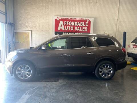 2010 Buick Enclave for sale at Affordable Auto Sales in Humphrey NE