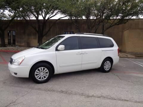 2011 Kia Sedona for sale at ACH AutoHaus in Dallas TX