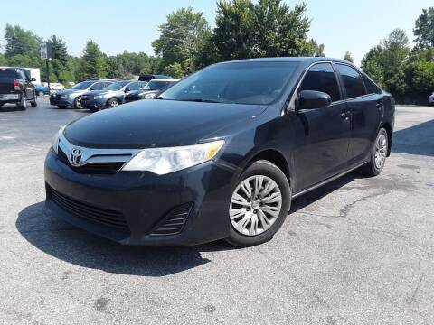 2014 Toyota Camry for sale at Cruisin' Auto Sales in Madison IN
