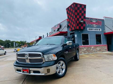 2015 RAM Ram Pickup 1500 for sale at Chema's Autos & Tires in Tyler TX