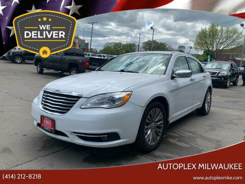 2011 Chrysler 200 for sale at Autoplex Milwaukee in Milwaukee WI