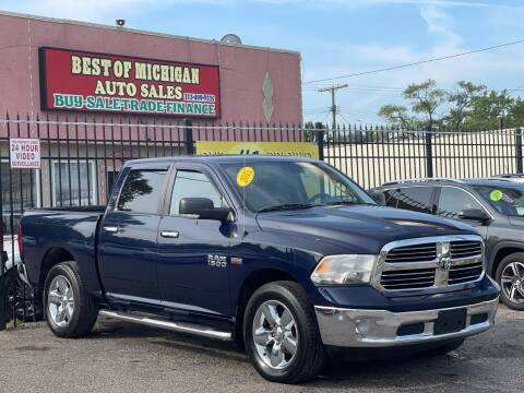 2015 RAM Ram Pickup 1500 for sale at Best of Michigan Auto Sales in Detroit MI