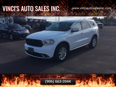 2014 Dodge Durango for sale at Vinci's Auto Sales Inc. in Bessemer MI