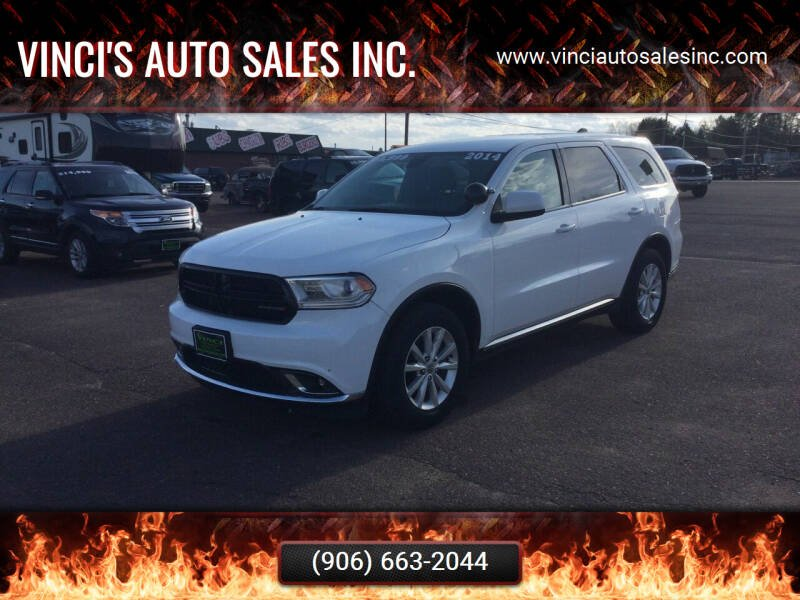 2014 Dodge Durango for sale at Vinci's Auto Sales Inc. in Bessemer MI