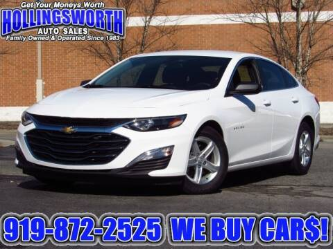 2020 Chevrolet Malibu for sale at Hollingsworth Auto Sales in Raleigh NC