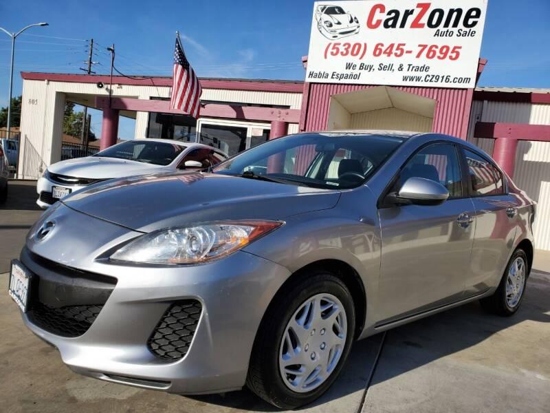 2013 Mazda MAZDA3 for sale at CarZone in Marysville CA