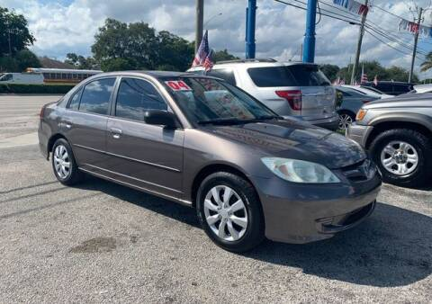 2004 Honda Civic for sale at AUTO PROVIDER in Fort Lauderdale FL