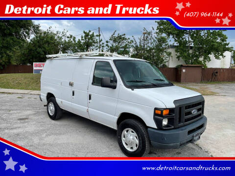 2011 Ford E-Series Cargo for sale at Detroit Cars and Trucks in Orlando FL
