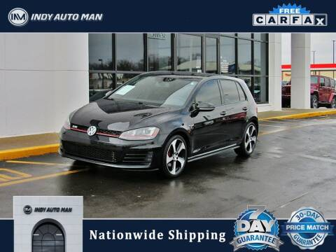2016 Volkswagen Golf GTI for sale at INDY AUTO MAN in Indianapolis IN