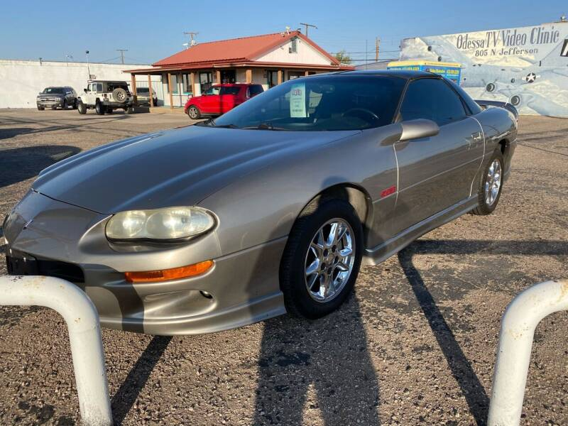 2001 Chevrolet Camaro for sale at Gabes Auto Sales in Odessa TX