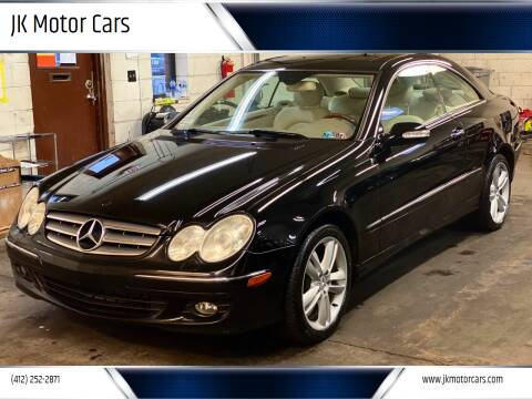 2007 Mercedes-Benz CLK for sale at JK Motor Cars in Pittsburgh PA