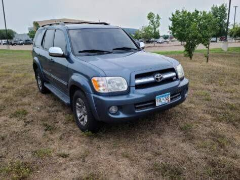 2007 Toyota Sequoia for sale at MATTHEWS AUTO SALES in Elk River MN
