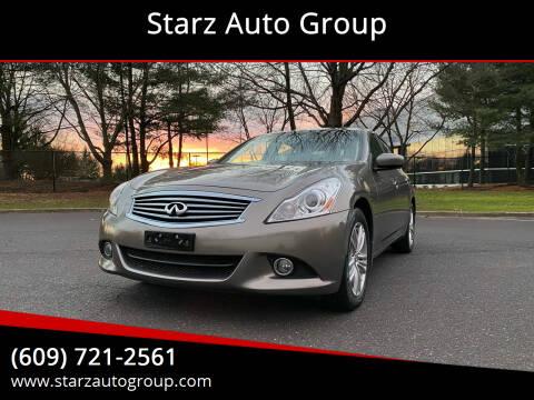 2012 Infiniti G37 Sedan for sale at Starz Auto Group in Delran NJ
