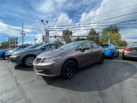2015 Honda Civic for sale at WOLF'S ELITE AUTOS in Wilmington DE