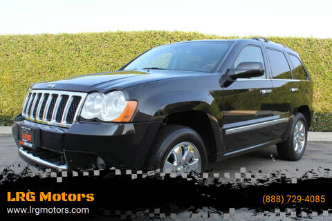 2008 Jeep Grand Cherokee for sale at LRG Motors in Montclair CA