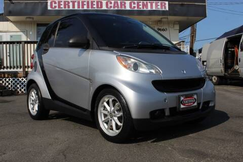 2008 Smart fortwo for sale at CERTIFIED CAR CENTER in Fairfax VA