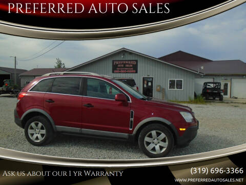 2012 Chevrolet Captiva Sport for sale at PREFERRED AUTO SALES in Lockridge IA