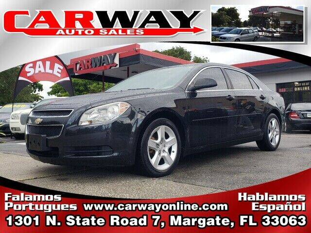 2011 Chevrolet Malibu for sale at CARWAY Auto Sales in Margate FL
