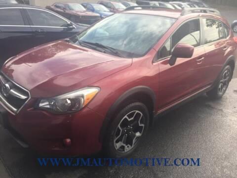 2014 Subaru XV Crosstrek for sale at J & M Automotive in Naugatuck CT