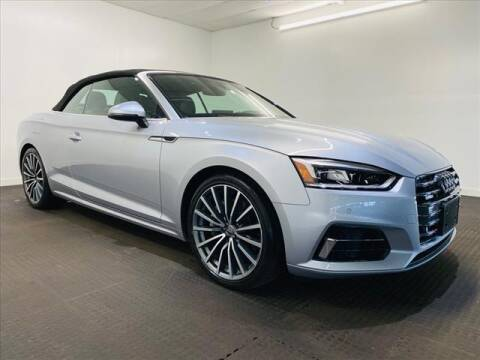 2018 Audi A5 for sale at Champagne Motor Car Company in Willimantic CT