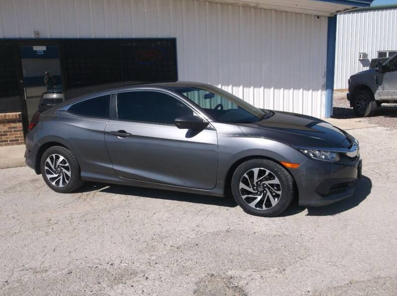 2017 Honda Civic for sale at AUTO TOPIC in Gainesville TX