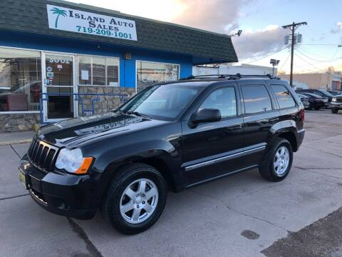 2010 Jeep Grand Cherokee for sale at Island Auto Sales in Colorado Springs CO