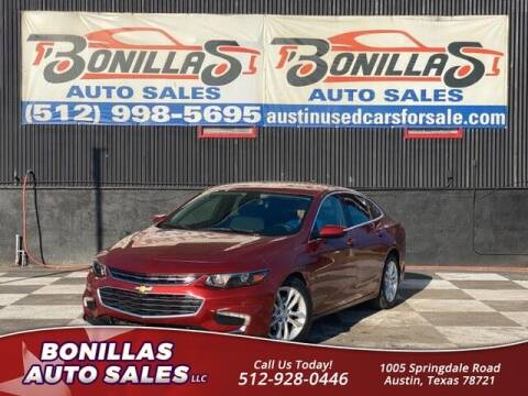 2017 Chevrolet Malibu for sale at Bonillas Auto Sales in Austin TX