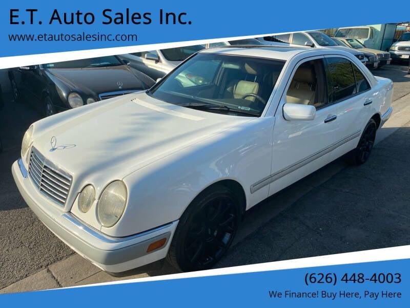 1997 Mercedes-Benz E-Class for sale at E.T. Auto Sales Inc. in El Monte CA