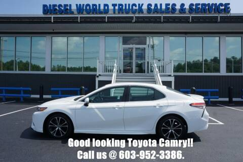 2018 Toyota Camry for sale at Diesel World Truck Sales in Plaistow NH