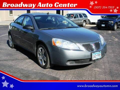 2009 Pontiac G6 for sale at Broadway Auto Center in New Ulm MN