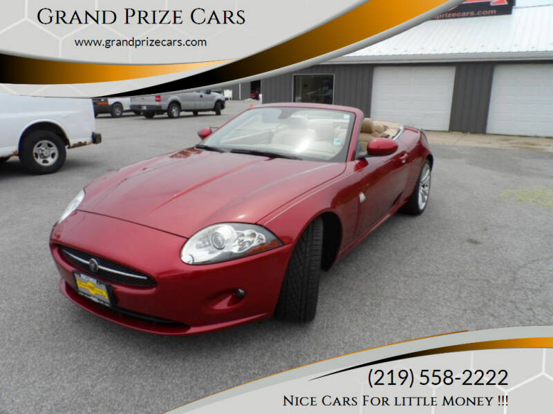 2007 Jaguar XK-Series for sale at Grand Prize Cars in Cedar Lake IN