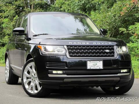 2014 Land Rover Range Rover for sale at Isuzu Classic in Cream Ridge NJ