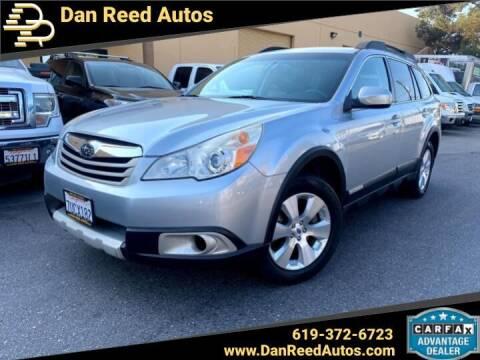 2012 Subaru Outback for sale at Dan Reed Autos in Escondido CA
