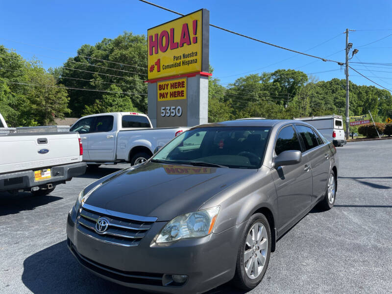 2005 Toyota Avalon for sale at No Full Coverage Auto Sales in Austell GA