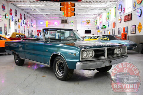 1966 Dodge Coronet for sale at Classics and Beyond Auto Gallery in Wayne MI