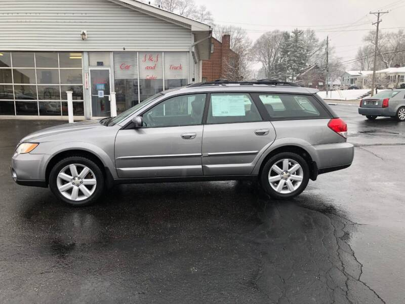 2008 Subaru Outback for sale at J&J Car and Truck Sales in North Canton OH