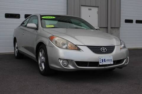 2005 Toyota Camry Solara for sale at Harbor Auto Sales in Hyannis MA