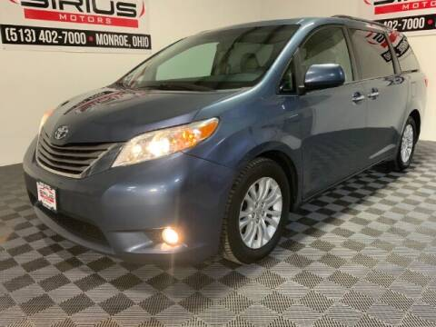 2015 Toyota Sienna for sale at SIRIUS MOTORS INC in Monroe OH