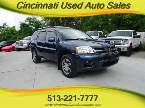 2006 Mitsubishi Endeavor for sale at Cincinnati Used Auto Sales in Cincinnati OH