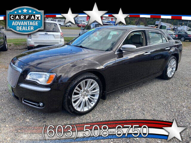 2013 Chrysler 300 for sale at J & E AUTOMALL in Pelham NH