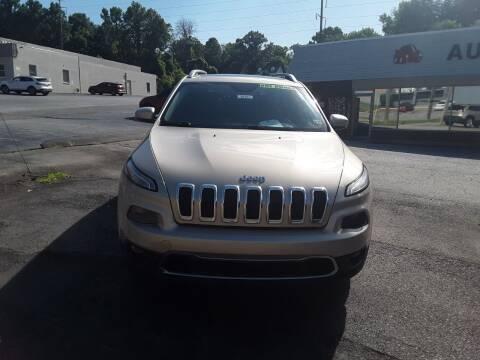 2015 Jeep Cherokee for sale at Auto Villa in Danville VA