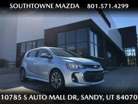 2017 Chevrolet Sonic for sale at Southtowne Mazda of Sandy in Sandy UT