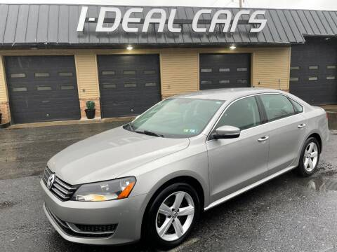 2012 Volkswagen Passat for sale at I-Deal Cars in Harrisburg PA