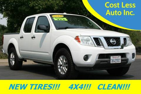 2014 Nissan Frontier for sale at Cost Less Auto Inc. in Rocklin CA