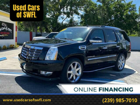 2009 Cadillac Escalade Hybrid for sale at Used Cars of SWFL in Fort Myers FL