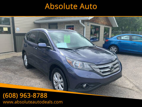 2013 Honda CR-V for sale at Absolute Auto in Baraboo WI